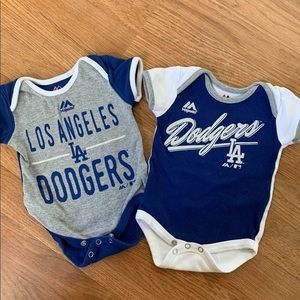 Dodgers onesies